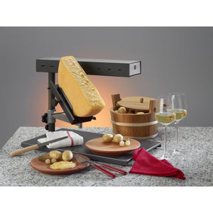 TTM Raclette cheese melter POP for 1/2 round of cheese