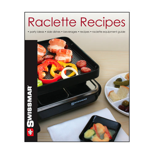 Swissmar Raclette Recipe Book, english