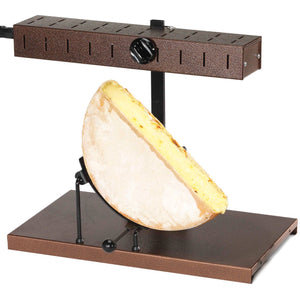 Raclette melter L'Alpage for half wheel of raclette cheese