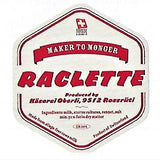 Risler Raclette Label from Kaeserei Oberli