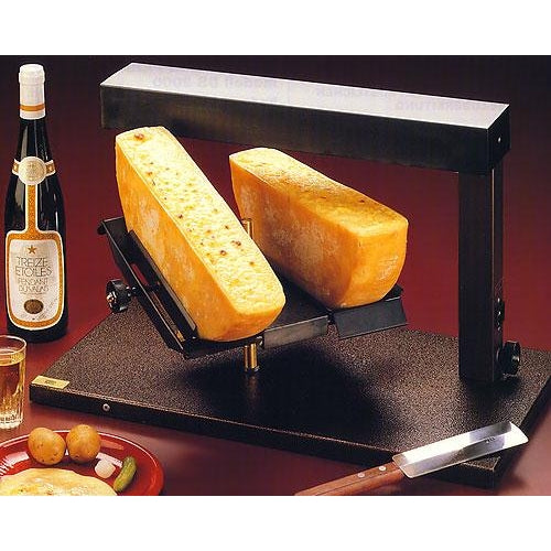TTM DS 2000 Raclette Melter for 2 1/2 wheels of cheese