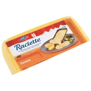 Emmi Raclette Cheese from Switzerland, half square, 7lbs.