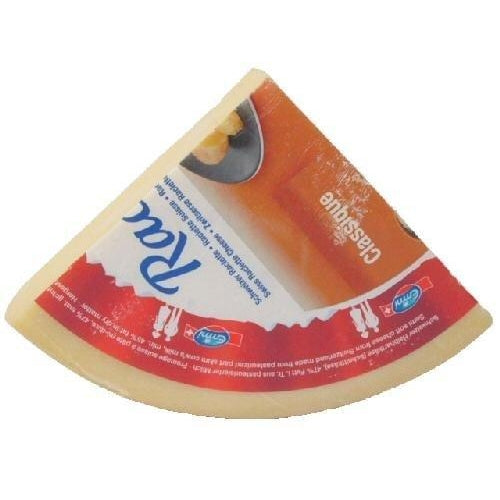 Emmi Raclette cheese 1/4 wheel, 3 lbs.