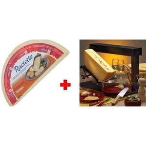 Ambiance raclette melter and 1/2 wheel of cheese for RENT