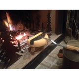 Raclette 'Flame' - wheel holder for the open fire