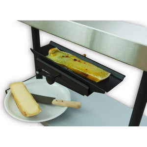 TTM inserts for raclette melter, non-stick