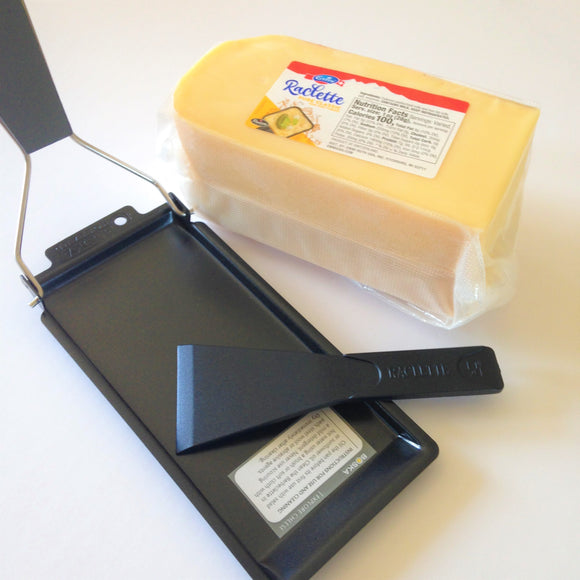 Raclette Starter Set for BBQ with Raclette cheese