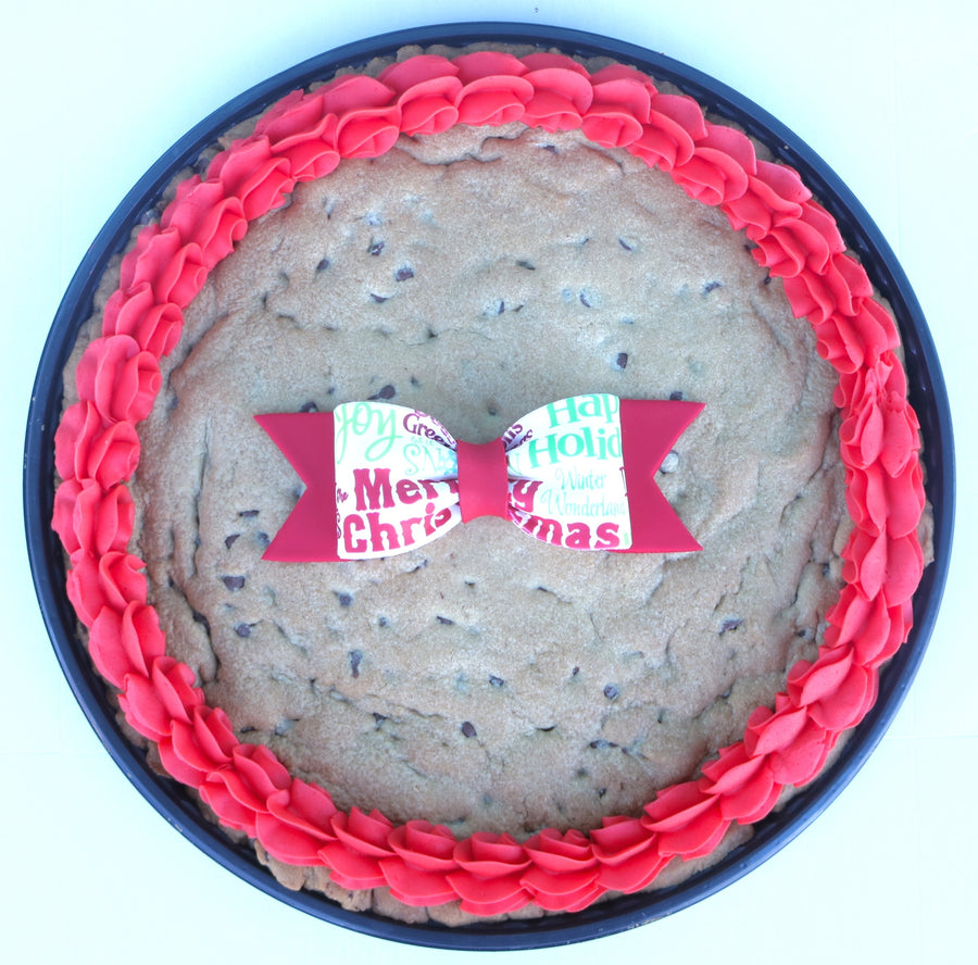 Christmas Cookie Cake