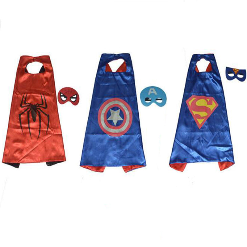 2017new 1pc PAW - Cape and Mask Set Patrol Costume kids birthday party favor Superhero Style Cosplay Costumes and Halloween Gift