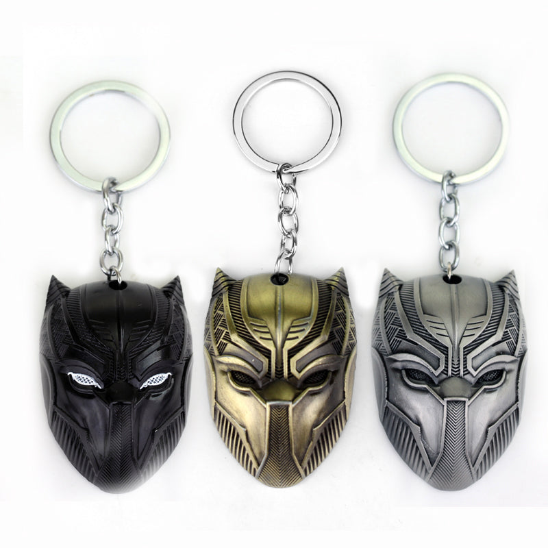 Black Panther Keychain For Men