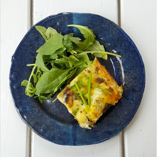 Camilla Akerberg's Roasted Pumpkin Frittata Recipe