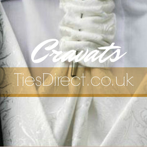 FREE SHIPPING - Large selection of Cravats. 100 styles in stock