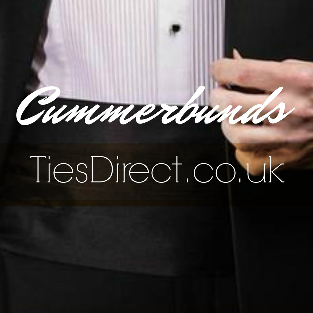 Shop the latest trends in Cummerbunds at TiesDirect.co.uk a leading retailer in plain neckwear and men's wedding wear and accessories
