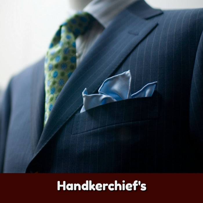 Mens Pocket Squares & Cotton Handkerchiefs For Men | TiesDirect.co.uk