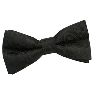 TiesDirect.co.uk - Paisley Pre-Tied Bow Tie Colour black