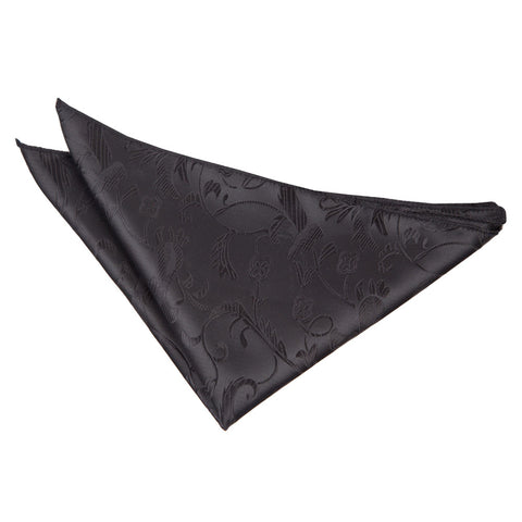 TiesDirect.co.uk - Passion Handkerchief Colour black