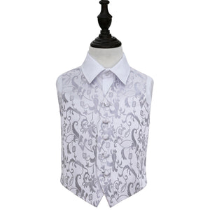 TiesDirect.co.uk - Passion Waistcoat - Boys Colour silver