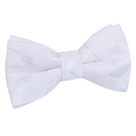 TiesDirect.co.uk - Passion Pre-Tied Bow Tie - Boys Colour white