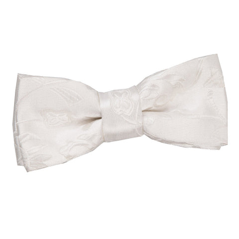 TiesDirect.co.uk - Passion Pre-Tied Bow Tie - Boys Colour ivory