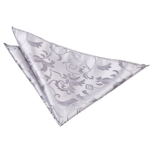 TiesDirect.co.uk - Passion Handkerchief Colour silver