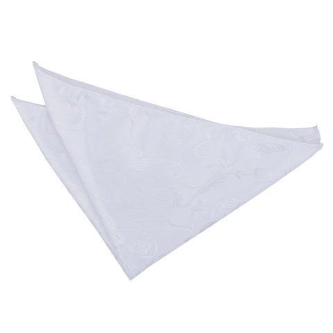TiesDirect.co.uk - Passion Handkerchief Colour white
