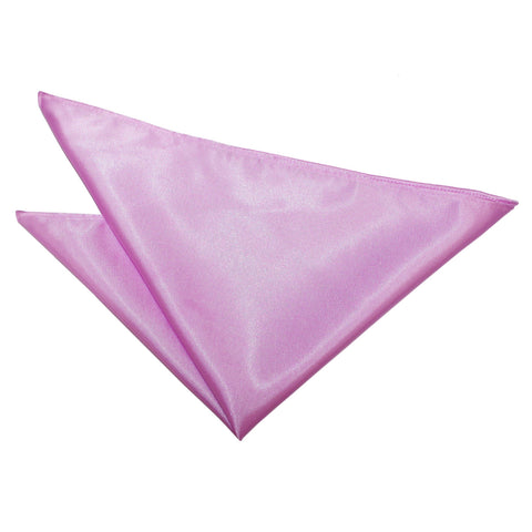 TiesDirect.co.uk - Plain Satin Handkerchief Colour lilac