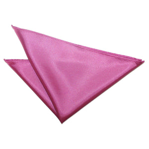 TiesDirect.co.uk - Plain Satin Handkerchief Colour mulberry