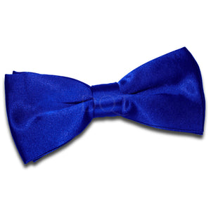 TiesDirect.co.uk - Plain Satin Pre-Tied Bow Tie Colour royal-blue
