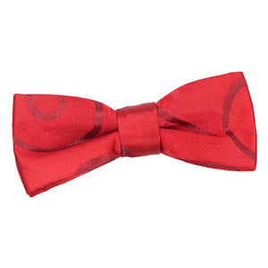 TiesDirect.co.uk - Scroll Pre-Tied Bow Tie - Boys Colour burgundy