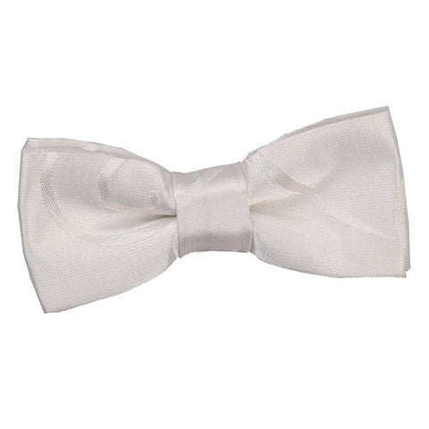 TiesDirect.co.uk - Scroll Pre-Tied Bow Tie - Boys Colour ivory