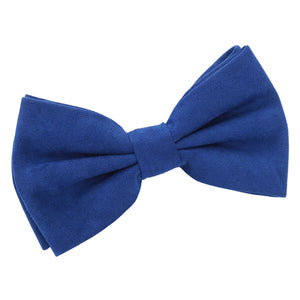 Suede Pre-Tied Bow Tie | TiesDirect.co.uk