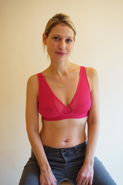 soft supportive wireless bra by ethical lingerie brand lara