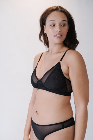 Wireless bra with support for big and small busts, lingerie and women's underwear for large chests