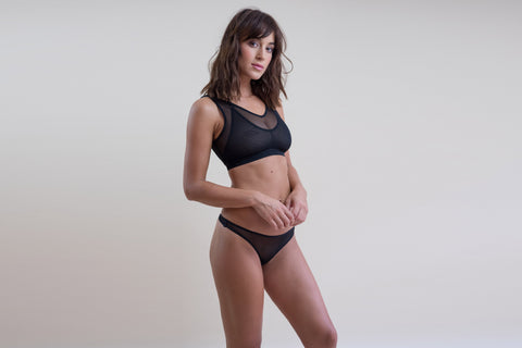 crop top soft minimiser bra with support for large boobs