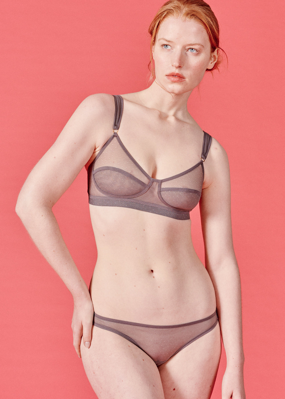 Clio Bra - Dove Grey
