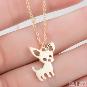 Chihuahua Dog Necklace, Necklace, LaVipLife, LaVipLife