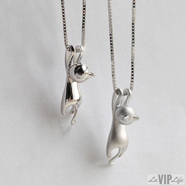 VIP - Tiny Cute Cat Pendant Necklace, Necklace, laviplife, LaVipLife