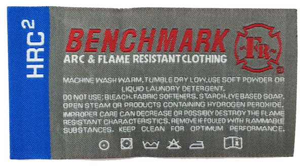 Benchmark FR Washing Guide