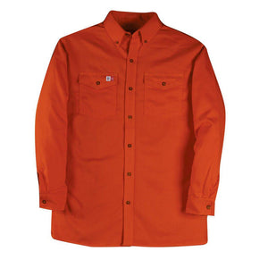 Big Bill FR 147BDTS7-ORA Orange Dress Shirt - Fire Retardant Shirts.com