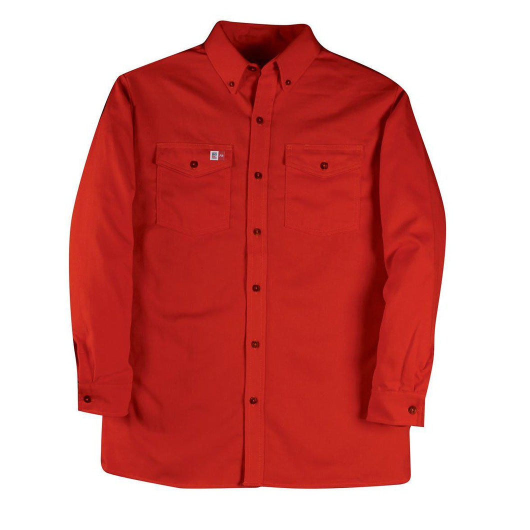 Big Bill FR 147BDUS7-RED Red Dress Shirt