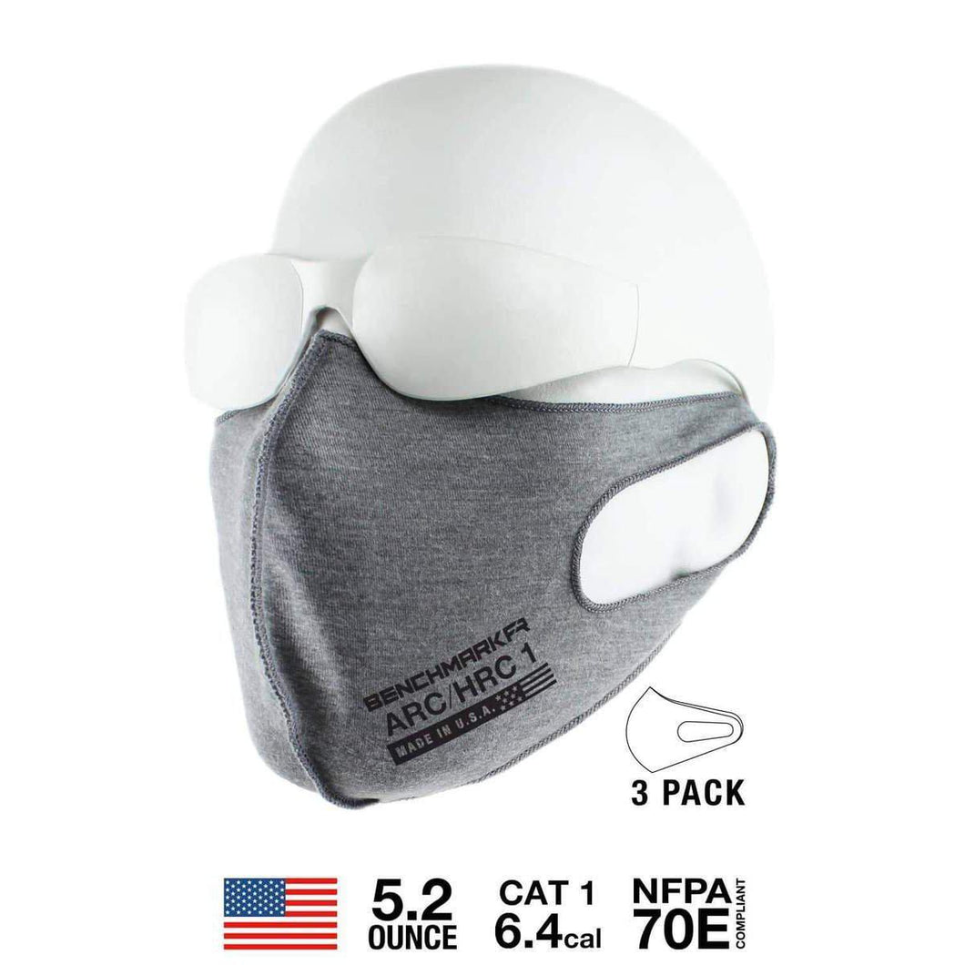 Benchmark FR 3051FRLG FR FACE MASK