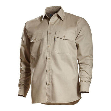 Benchmark FR 1028FRB Beige REALLY NICE FR SHIRT 2.0