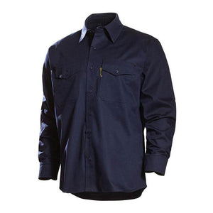 Benchmark FR 1028FRN Navy Really Nice FR Shirt 2.0 - Fire Retardant Shirts.com