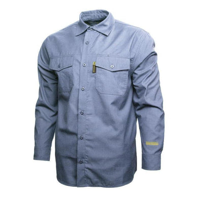 Benchmark FR 1029FRLB Light Blue SILVER BULLET SHIRT