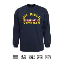 Benchmark FR 3118FRB-Oilvet Oilfield Veteran T-Shirt - Fire Retardant Shirts.com
