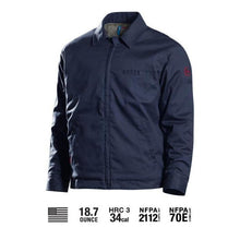 Benchmark FR 6008FRN Navy Insulated 'Fire Ram' Bomber Jacket