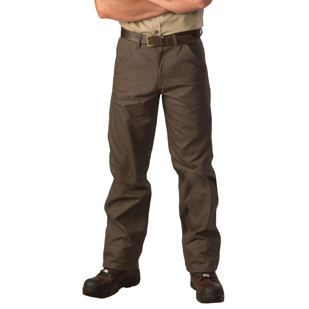 Big Bill FR 1981BW8-GRN Green Utility Jeans - Fire Retardant Shirts.com