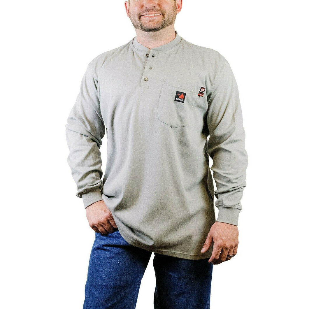 Forge FR MFRHNLY004 Henley Shirts