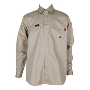 Forge FR MFRSLD-002 Solid Shirt Stone