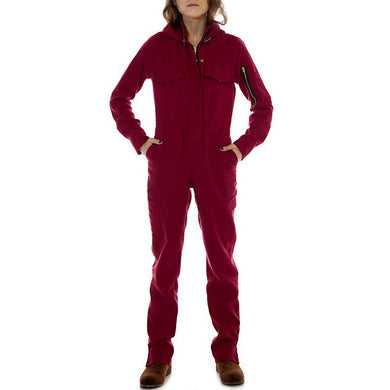 Hautework College Commemorative Flex Suit Women's Coverall - Fire Retardant Shirts.com